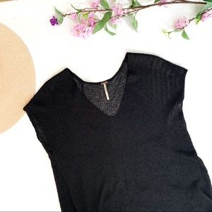 Free people black cover up